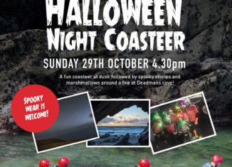 Halloween Night Coasteering