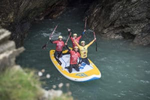Super SUP Coasteering Cornwall