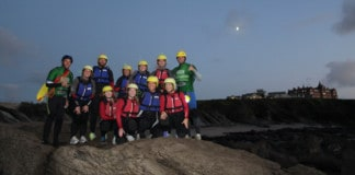 Night Coasteering