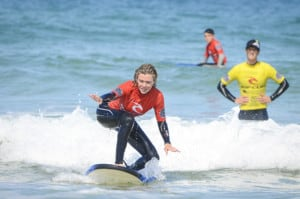 Military Adventure Training Surfing Lessons