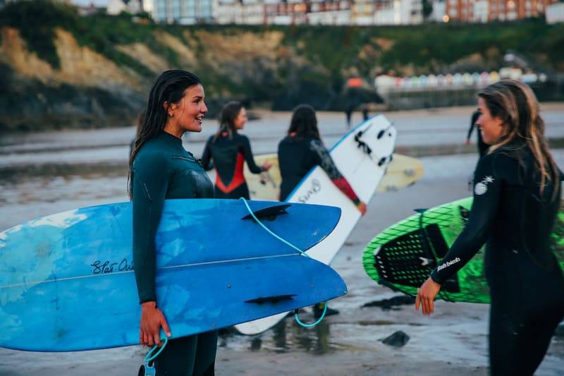 Surfing Women and Waves Coaching Day