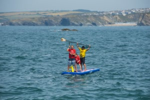 Family Super SUP Newquay
