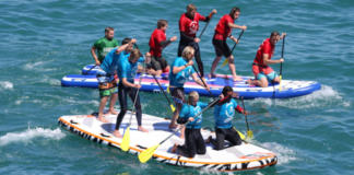 Corporate Team Building Super SUP Racing