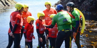 Kids Activities Coasteering