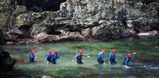 Military Adventure Training Cornwall Castaway