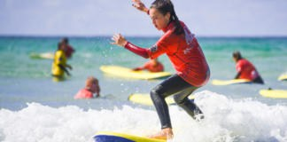 School Activities Surf Lessons