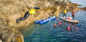 Stag and Hen Super Sup & Coasteering Newquay