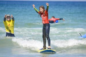 Kids Activities Surfing Lessons Newquay