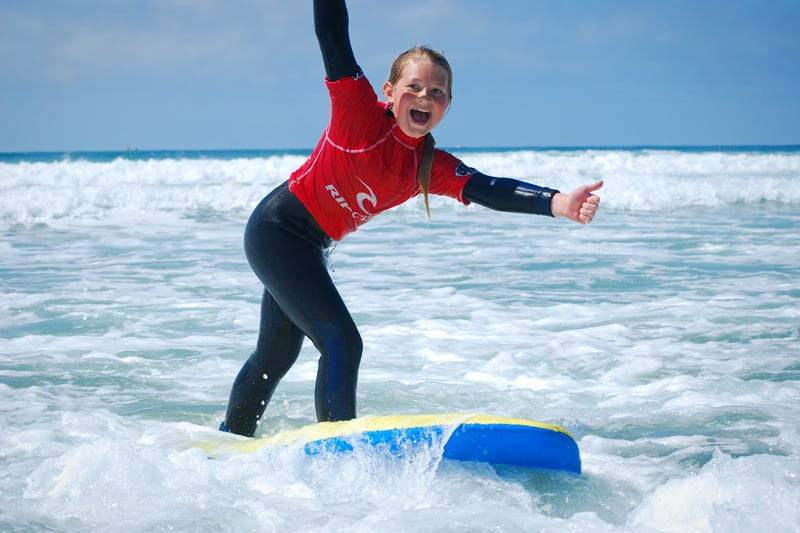 Kids Activities Surfing Lessons