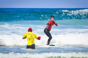 School Activities Lifeguard Trials Cornwall