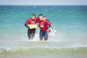 Stag and Hen Lifeguard Trials Cornwall