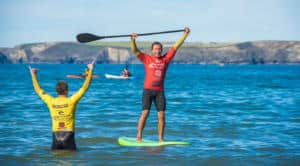 What is stand up paddleboarding