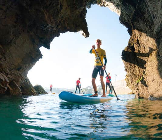 Learn about stand up paddleboarding