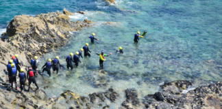 Spring Low Tide Coasteering