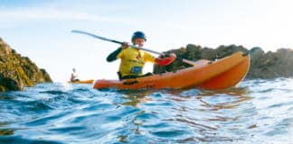 Military Adventure Training Kayaking