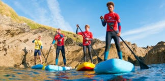 Family Stand Up Paddleboard Tour