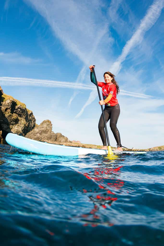 military adventure training stand up paddle boarding