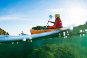 Stag and Hen Kayaking Cornwall
