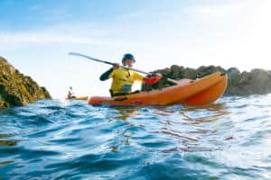 Stag and Hen Kayaking Newquay
