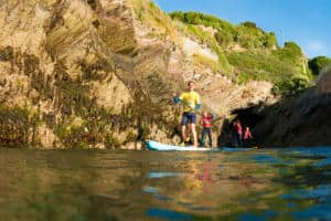 SUP Family Stand Up Paddleboarding Newquay