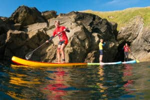 SUP Family Stand Up Paddle Boarding Newquay