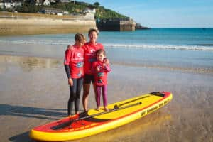 SUP Family Stand Up Paddle Boarding Cornwall