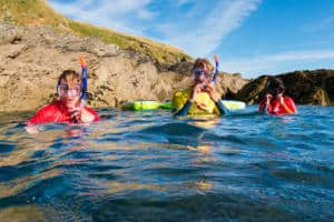 Snorkel SUP Adventure Newquay