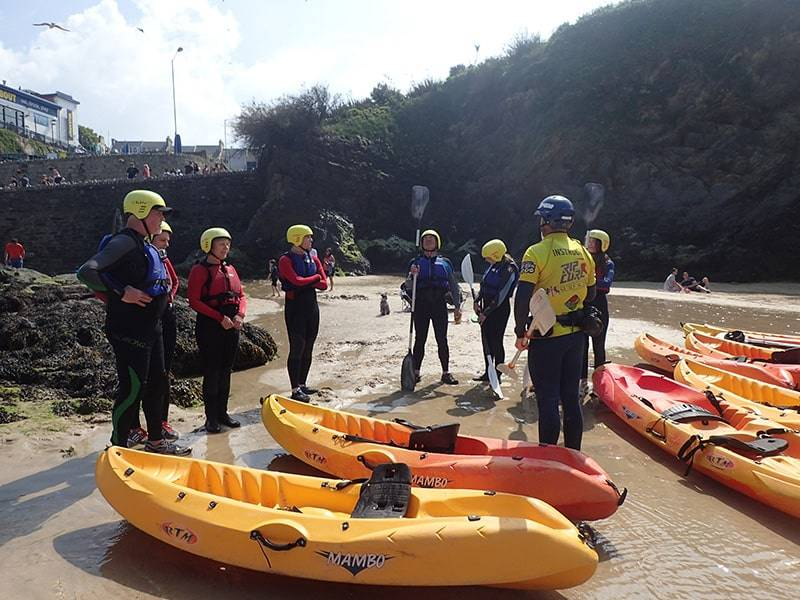 Staff training Newquay Activity Centre