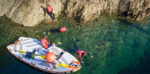 Family Activities Super SUP Snorkel Safari