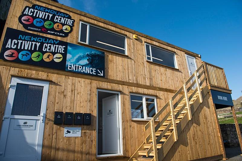 Newquay Activity Centre Exterior