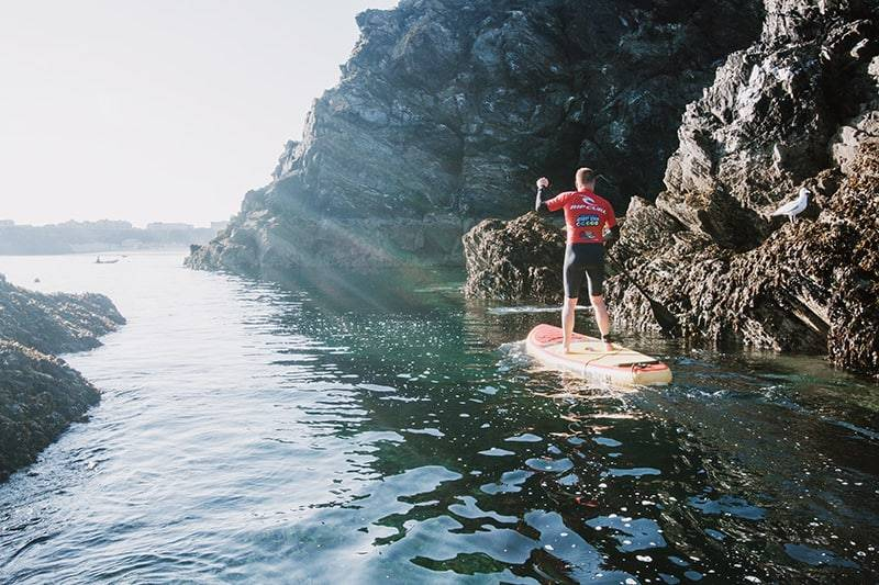 SUP Lessons Instead Of Hire Cornwall
