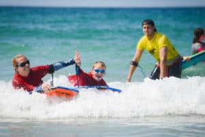 Family Bodyboarding Cornwall